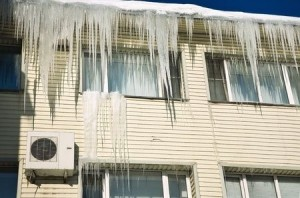 roofing problems icicle
